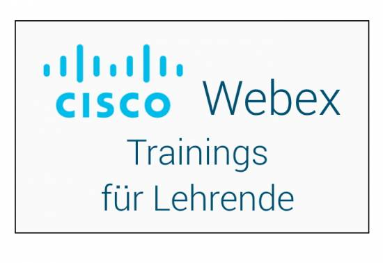 Webex Trainings für Leherende